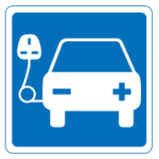 EVcharge-road-sign